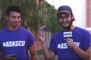 GCU TV Filming on Campus