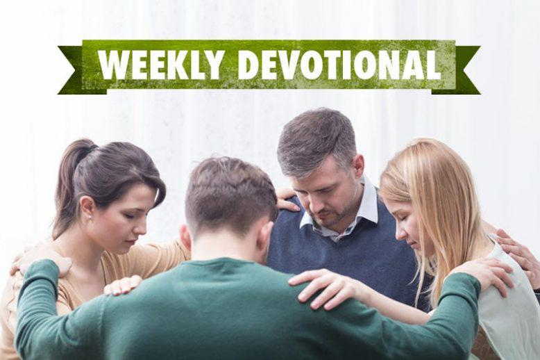 group of people praying