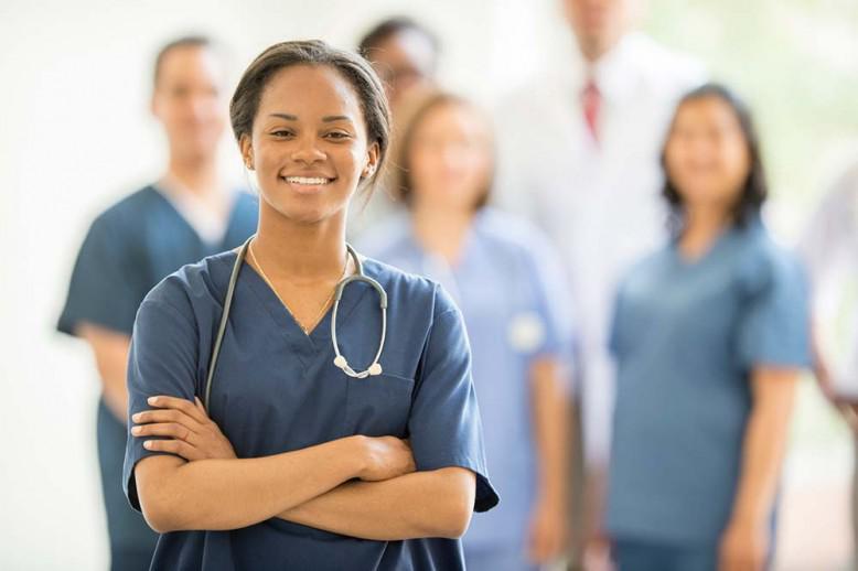 nurse crossing her arms