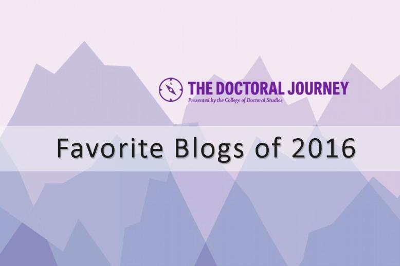 doctoral favorite blogs of 2016