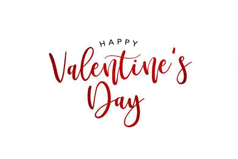 Happy Valentine's Day graphic