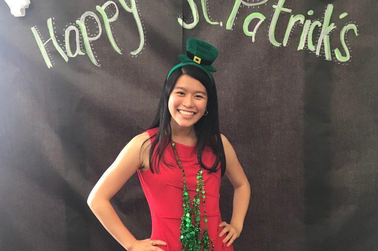 Honors Student Spotlight Selena Nguyen on St Patricks Day