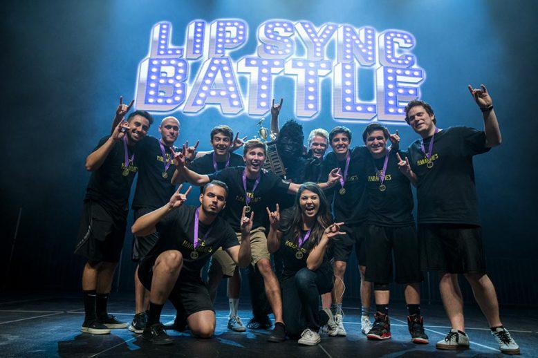 GCU students performing at the Lip Sync Battle