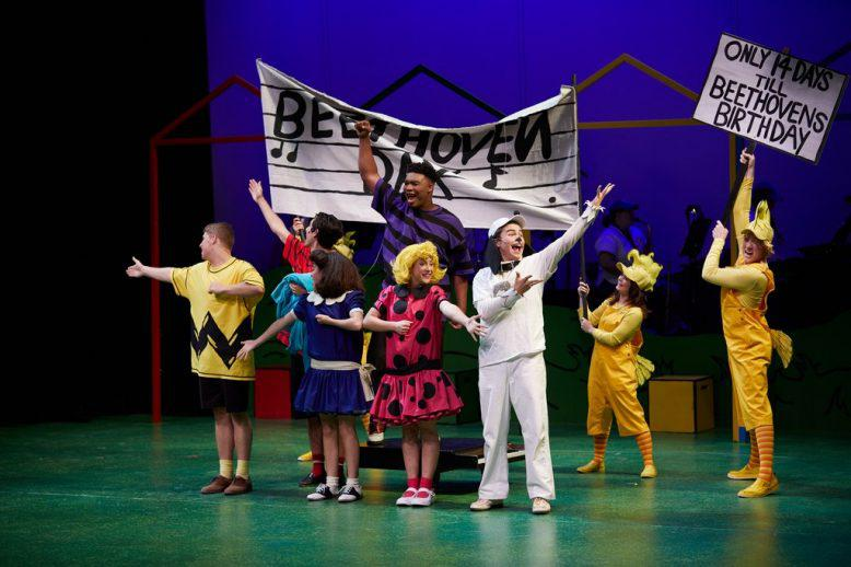 """The cast of 'You're a Good Man, Charlie Brown"""""""