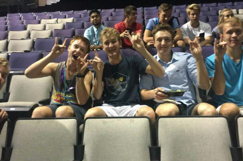 Future students attending honors orientation