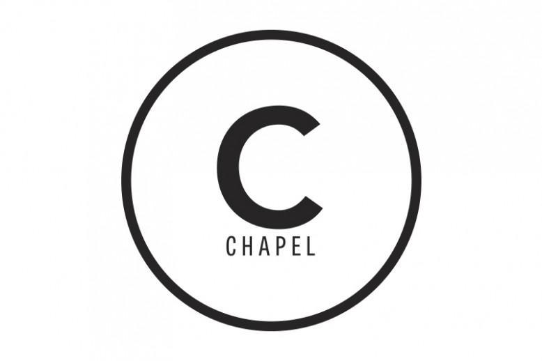 Black and white Chapel logo