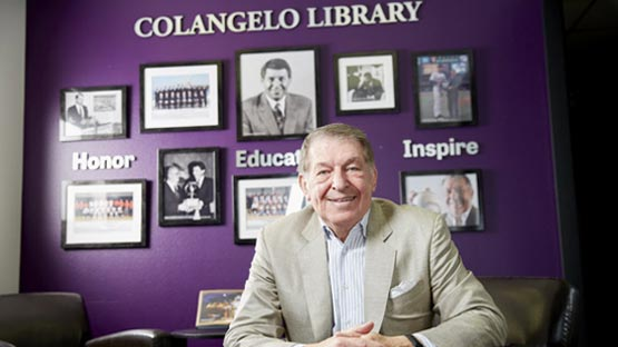 Jerry Colangelo in Colangelo Library