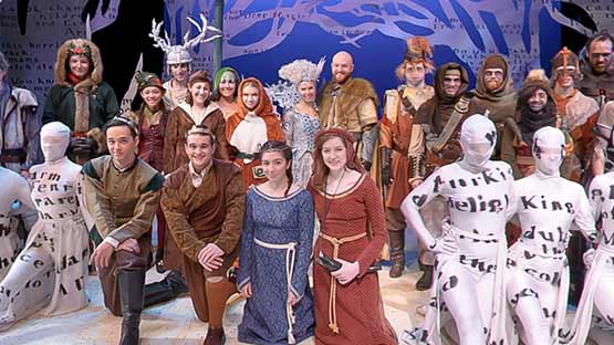 gcu performance of The Lion, The Witch and The Wardrobe at Ethington Theater