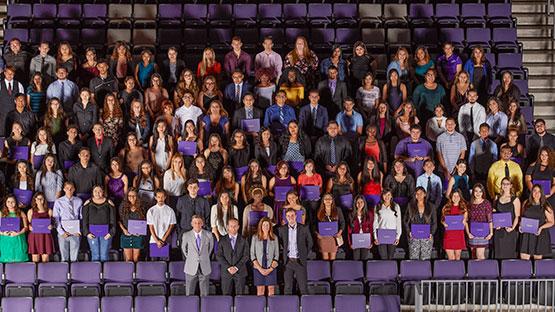 100 Inner-City High School Senior receive full-tuition scholarships