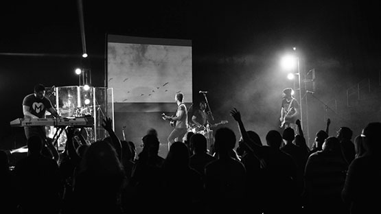 Students from Grand Canyon University's Center for Worship Arts release first full album
