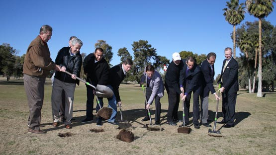 Breaking Ground on Maryvale Golf Course